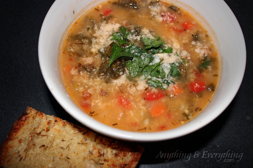 Vegetable Soup With Parmesan Dumplings Recipe — Dishmaps