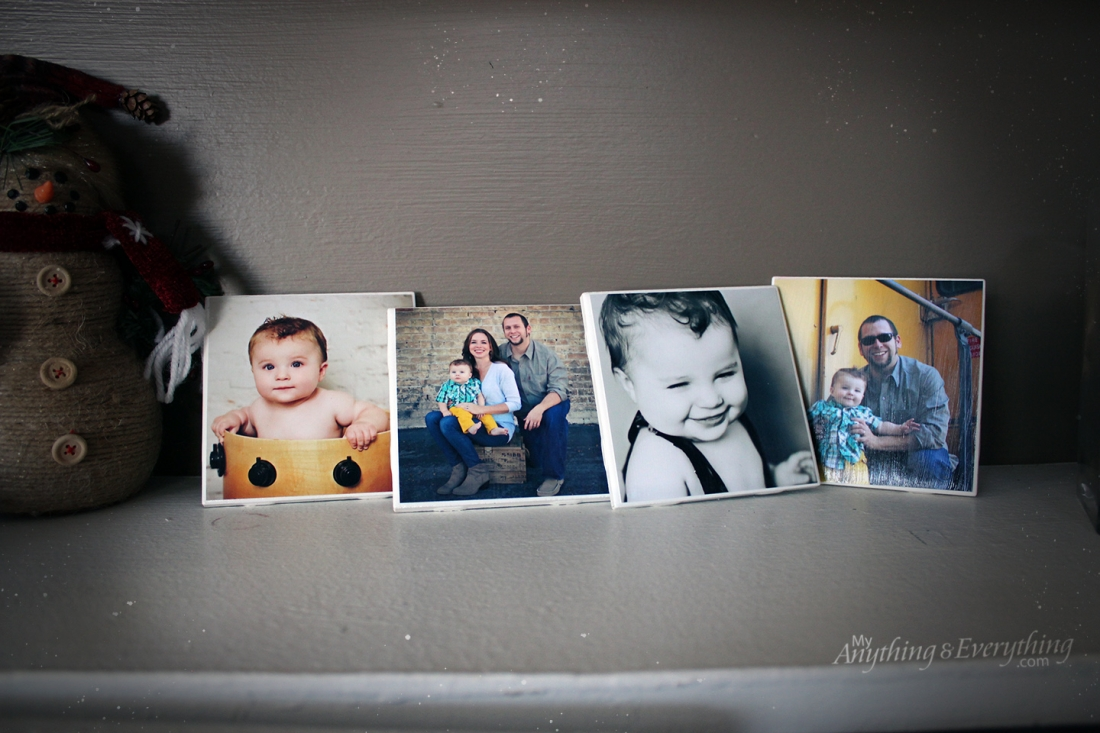 DIY Photo Tile Coasters final 4
