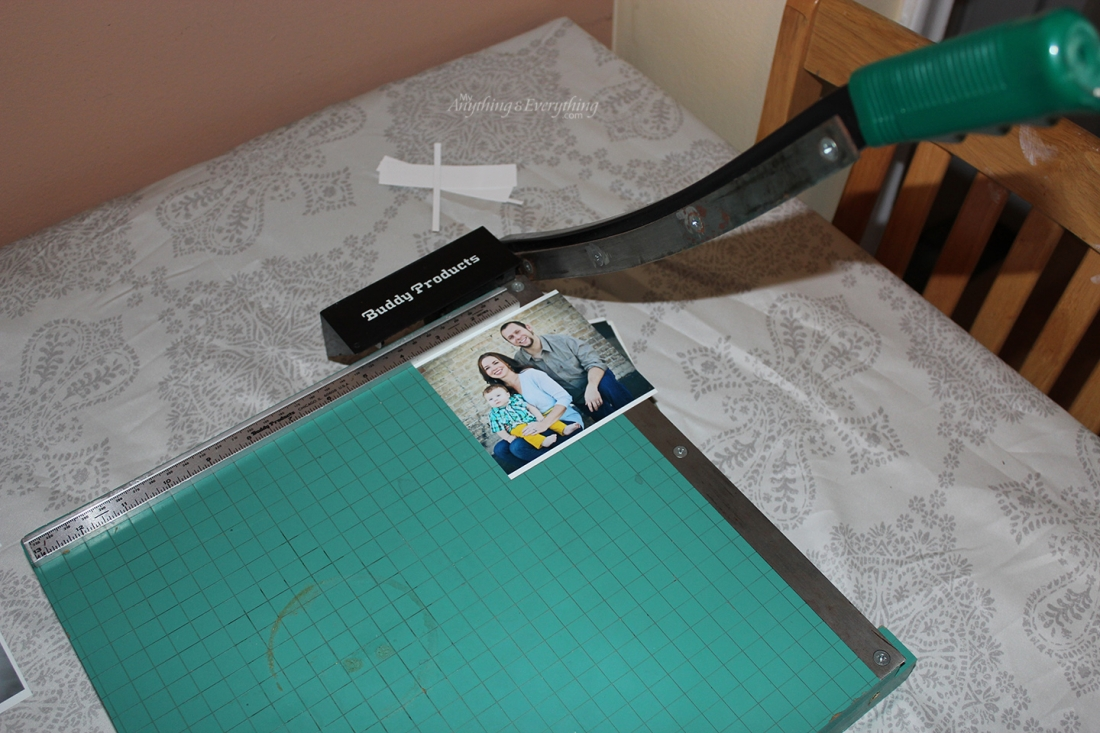 DIY Photo Tile Coasters step 1