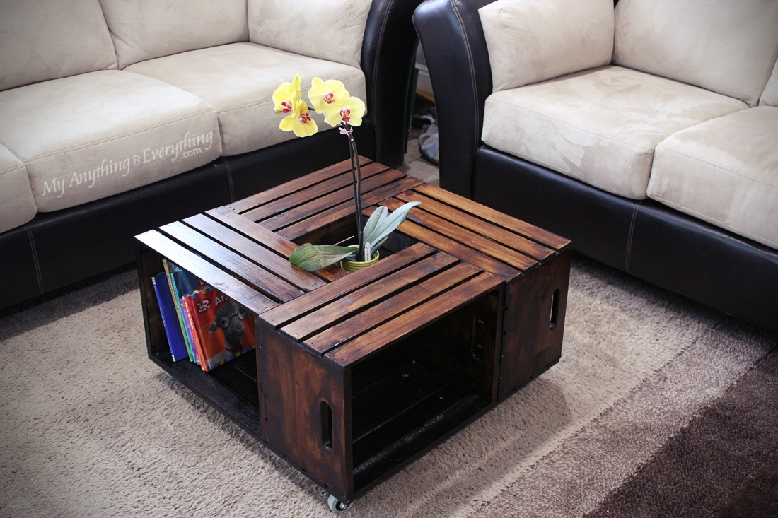 Beau Crate Coffee Table