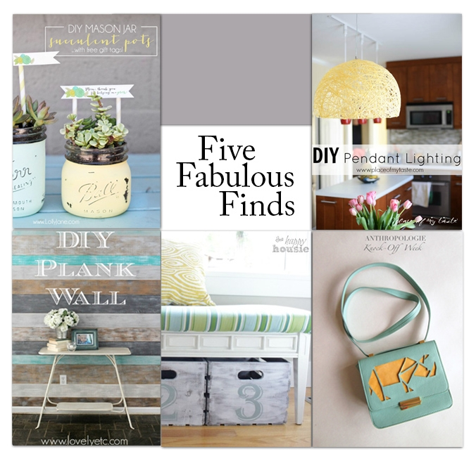 Five Fabulous Finds