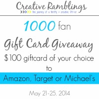 1000 fan gift card giveaway