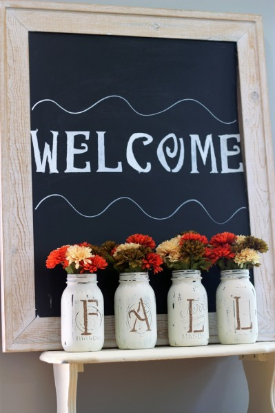 Fall Mason Jar Vases final 3