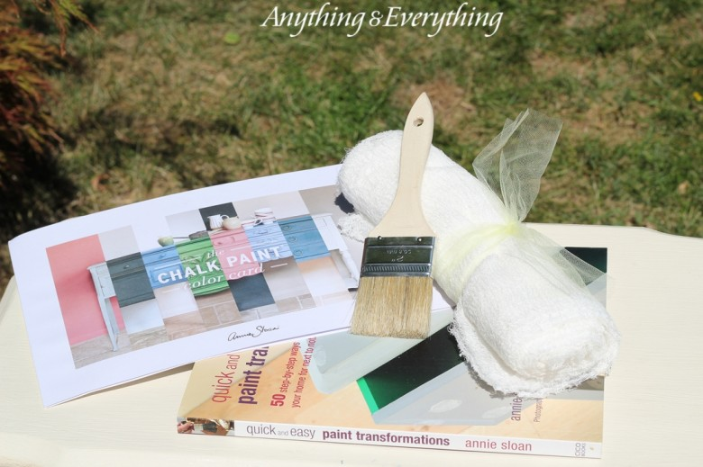 Annie Sloan Chalk Paint Tips & Tricks goodie bag-Anything & Everything