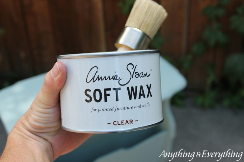 Annie Sloan Chalk Paint Tips & Tricks waxing-Anything & Everything