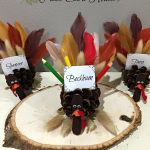 Thanksgiving Place Card Holders at The NY Melrose Family