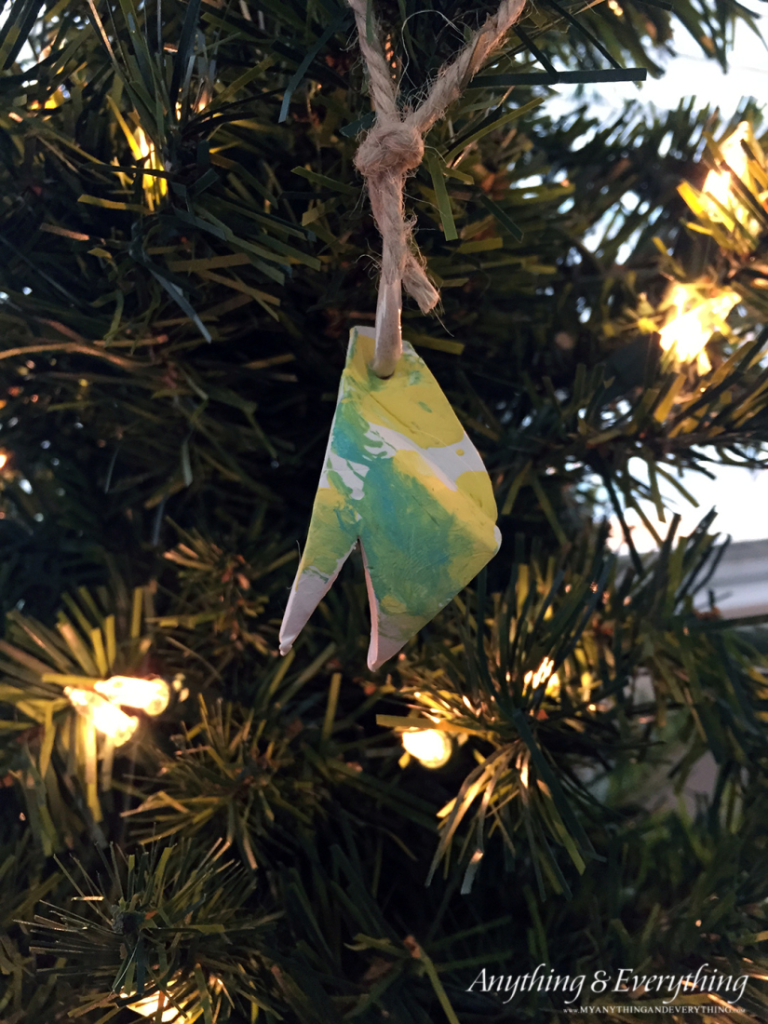 Diy geometric clay ornament west elm inspired 30 for West elm christmas tree
