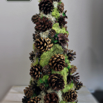 Pinecone Decorative Tree – Trim The Tree Blog Hop!