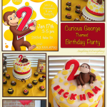 Happy Birthday Beckham! – Curious George themed Birthday Party