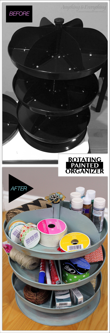 Painted Rotating Organizer