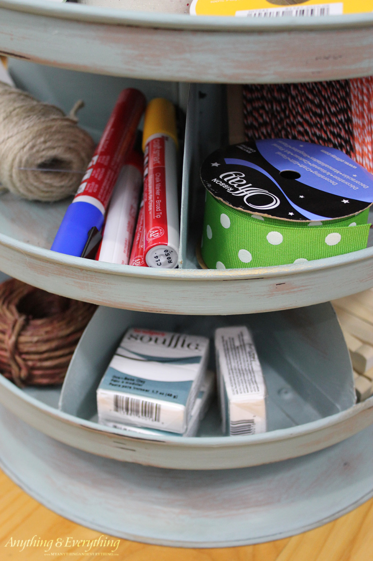Rotating Craft Organizer