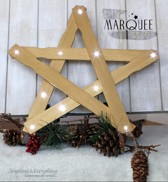 DIY Marquee Star 1