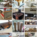 19 DIY Farmhouse Coffee Tables