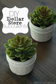 DIY Dollar Store Succulents