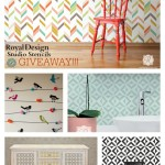 Royal Design Studio Stencil Giveaway!!!
