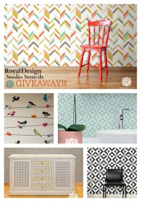 Royal Design Studio Stencils Giveaway