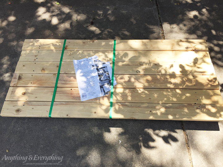 Home Depot Kids Picnic Table