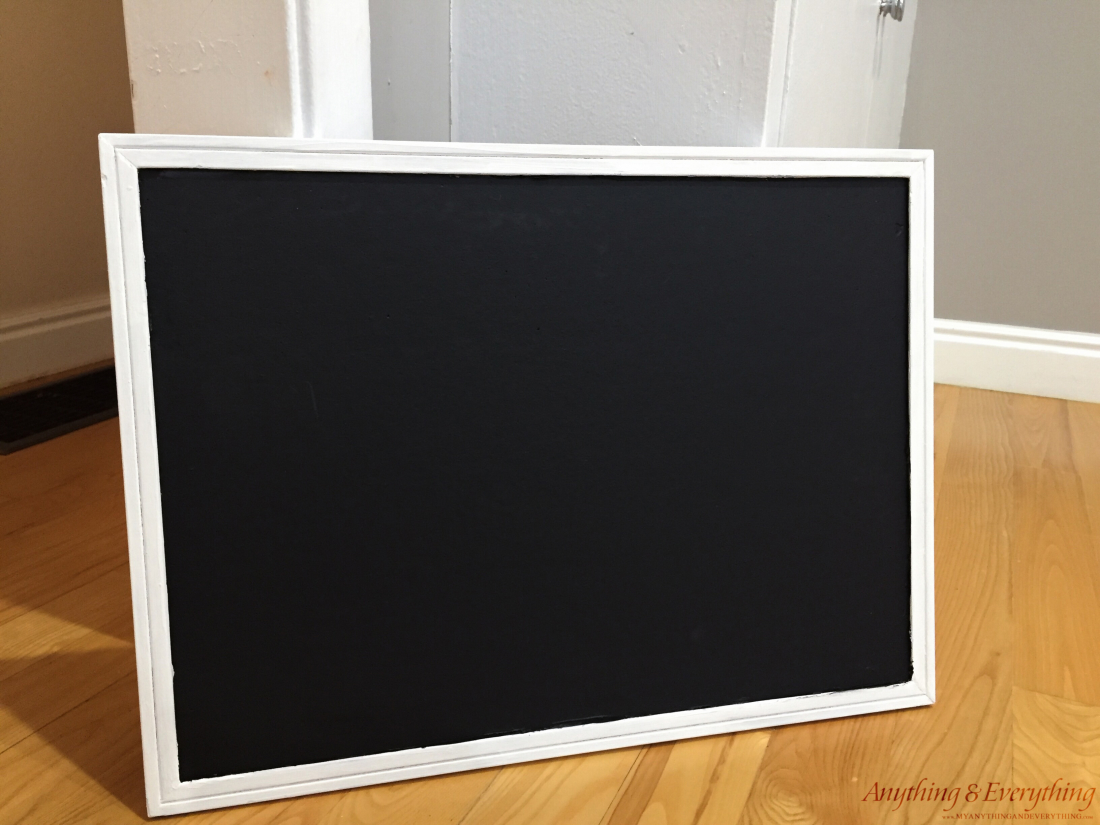 chalkboard bulletin board plus 8 other diy projects using cork monthly diy challenge. Black Bedroom Furniture Sets. Home Design Ideas