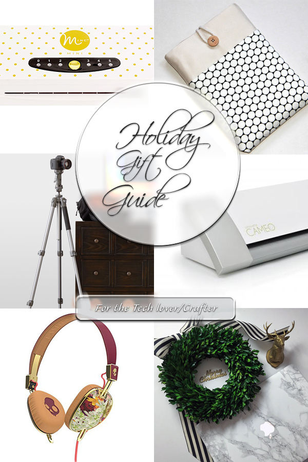 Holiday Gift Guide for the tech lover crafter