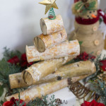 Rustic Birch Wood Holiday Tree