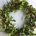 Tea Leaves and Berry Wreath – Monthly DIY Challenge