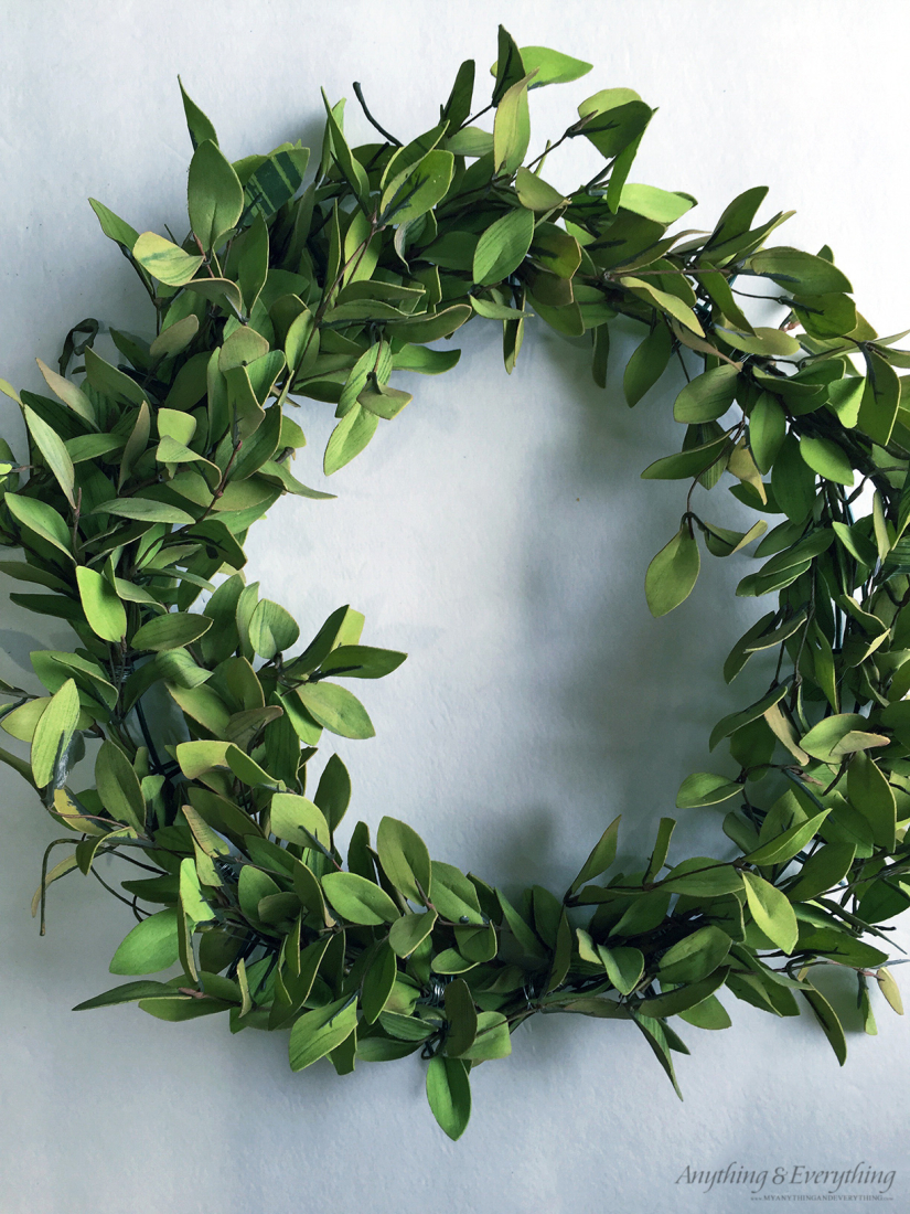 Tea Leaves And Berry Wreath Monthly Diy Challenge