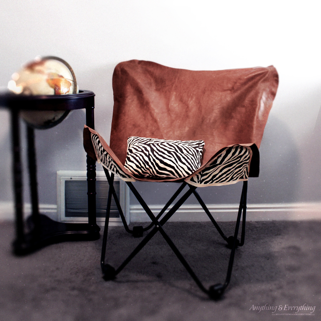 Merveilleux How To Make A Leather Butterfly Chair 2